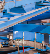 Our rollers are machined to work smoothly in any industrial conveyor system.